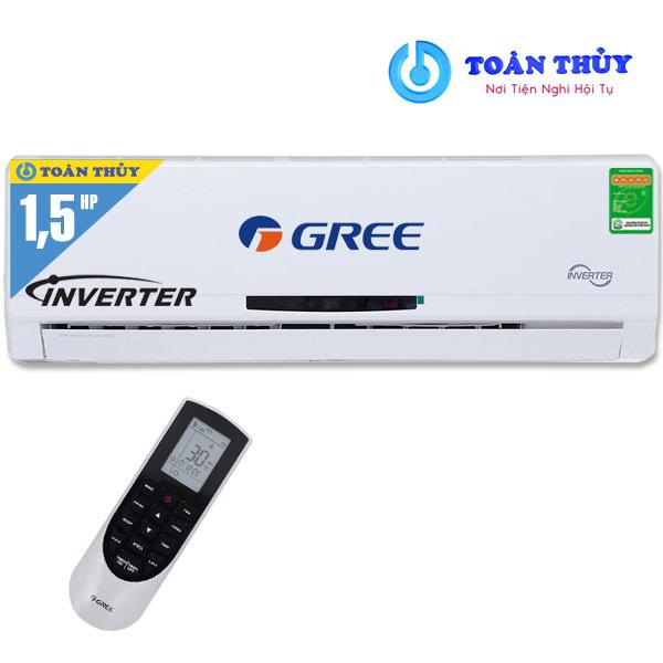 MUA ĐIỀU HÒA GREE 1 CHIỀU INVERTER GWC12MA-K3DNC2I 1.5 NGỰA GIÁ RẺ TẠI SIÊU THỊ ĐIỆN MÁY Toàn Thủy - TP HUẾ.