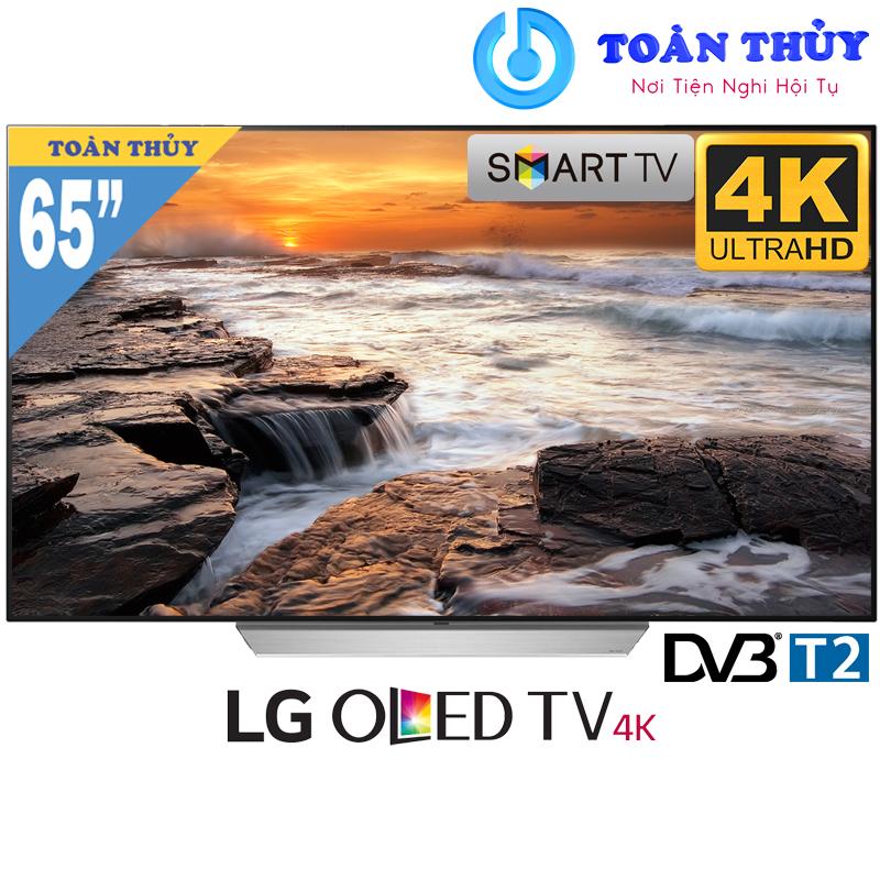 MUA SMART TIVI OLED LG UHD 4K 65C7T 65 INCH GIÁ RẺ TẠI SIÊU THỊ ĐIỆN MÁY Toàn Thủy - TP HUẾ.